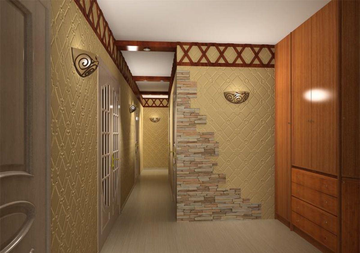 100 лучших идей дизайна стен в прихожей и коридоре на фото 19