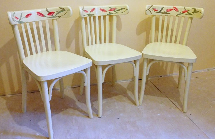 Декупаж стульев для начинающих пошагово 21