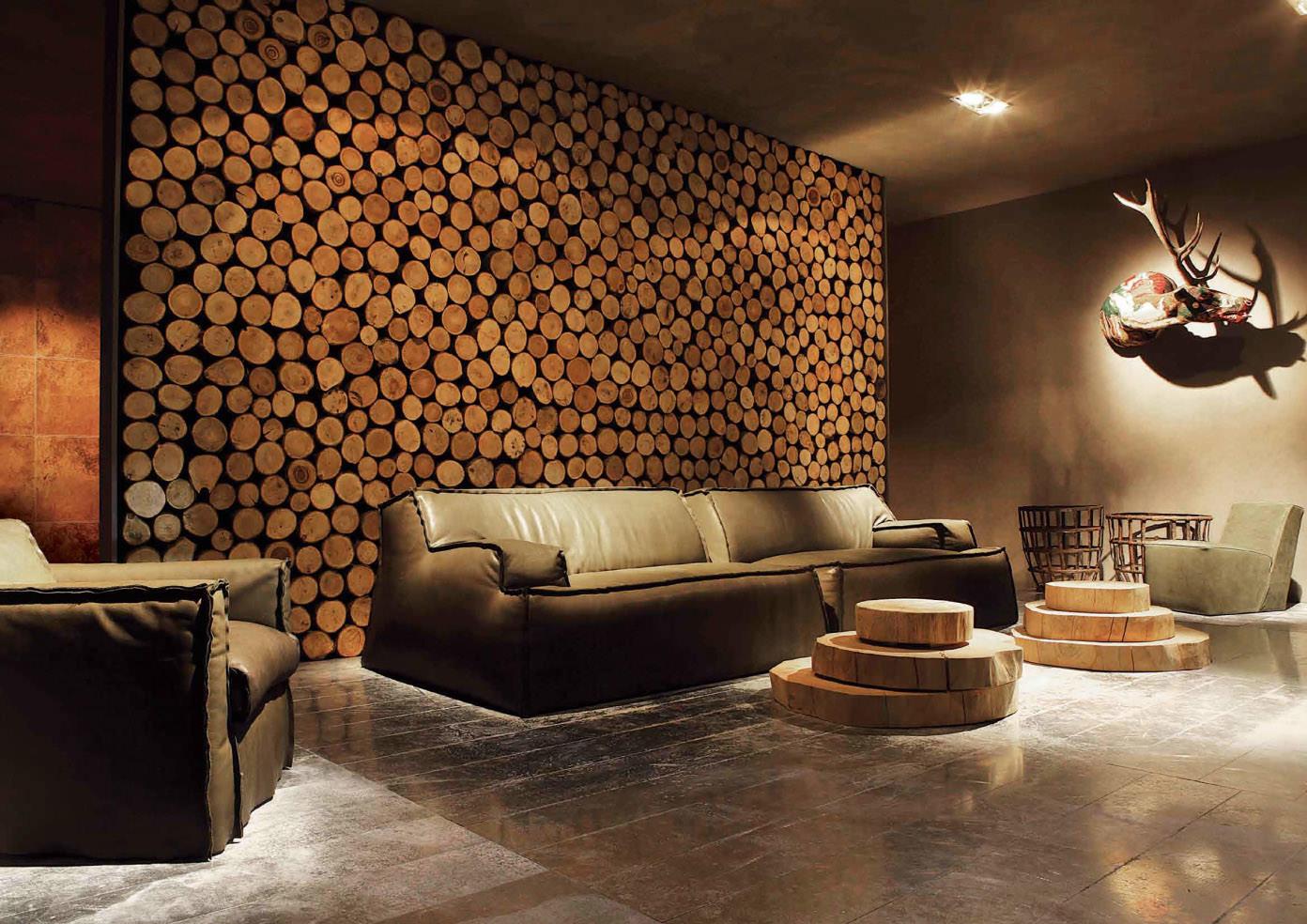 Отделка стен деревом в квартире своими руками 20