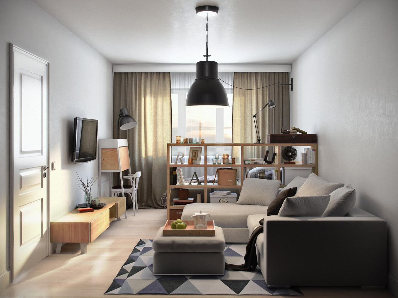 дизайн проект квартиры 36 кв м 1