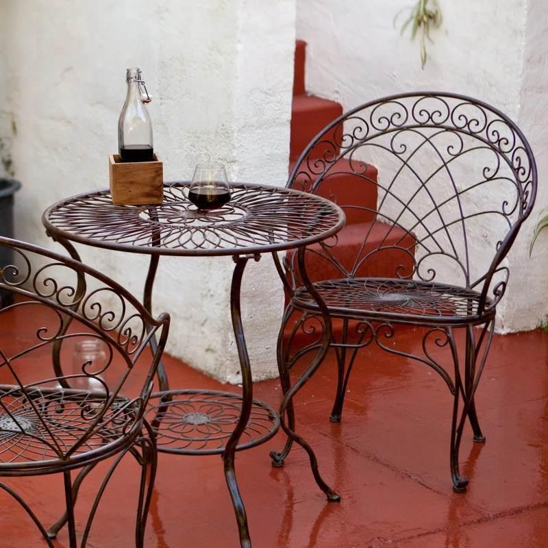 Кованые столы с деревянными столешницами в беседку фото металлическая столешница цена