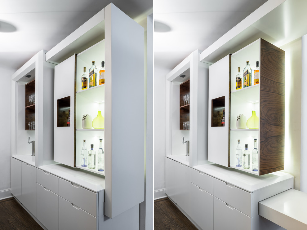 Прихожая (95 фото): оформление интерьера квадратного коридор.