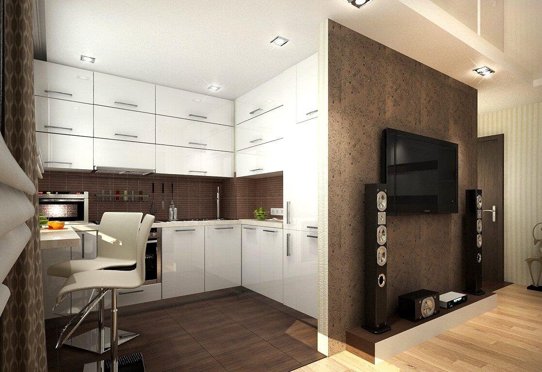 дизайн однокомнатной квартиры хрущевки 5
