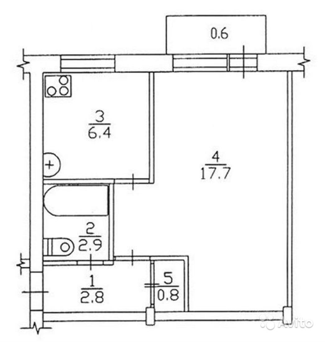 Схема двухкомнатной квартиры хрущевки фото 484