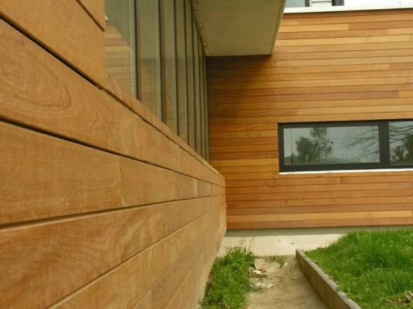 Фасадные панели дерево эконом класса