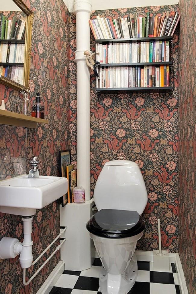 Интерьер туалета своими руками 26