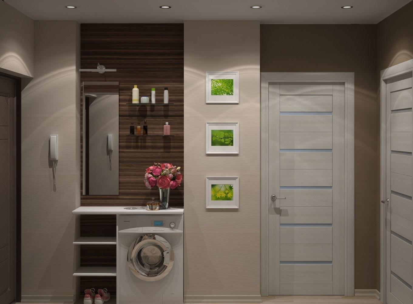 Холодильник в коридоре фото дизайн идеи