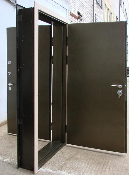 размеры входных металлических дверей с коробкой стандартные