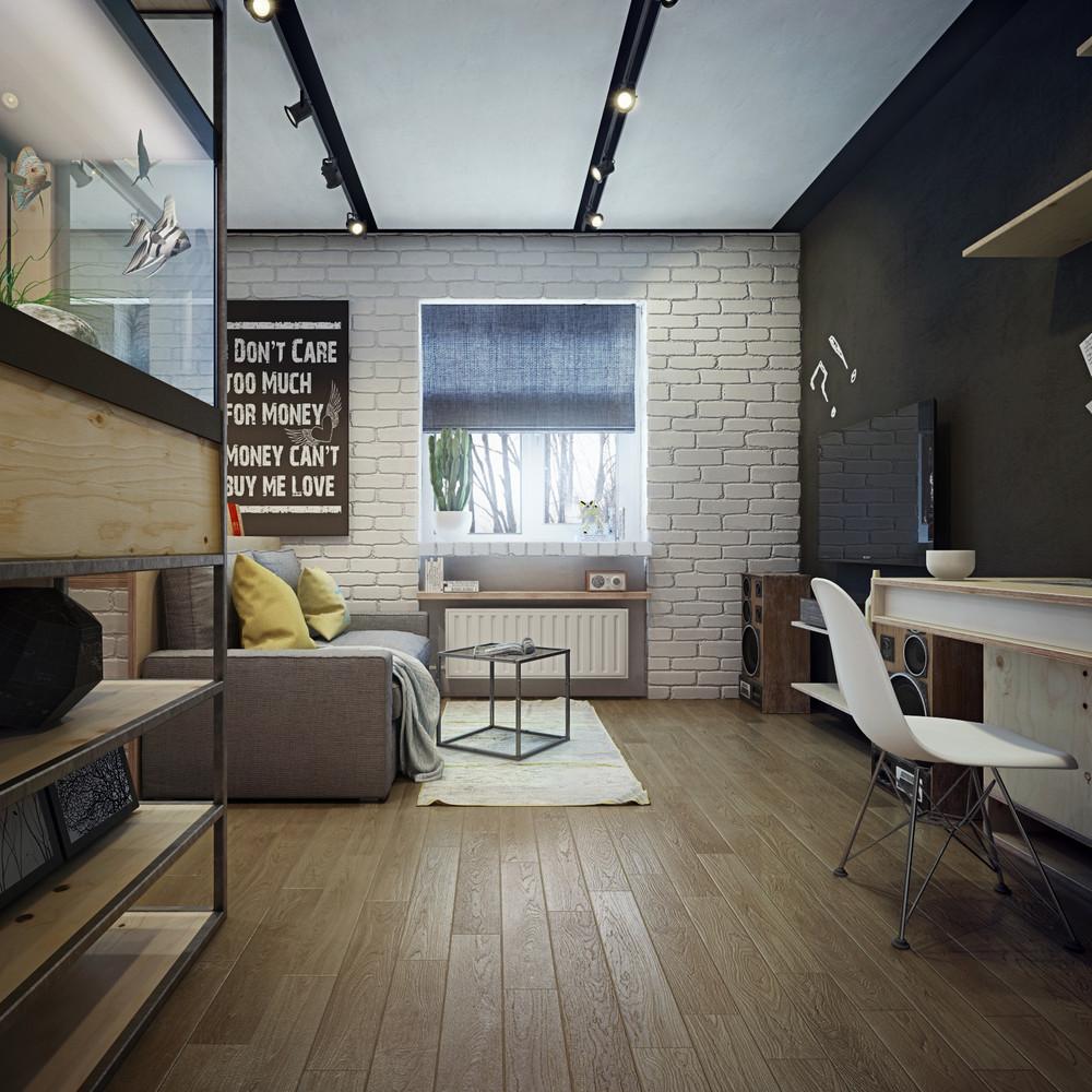 Дизайн квартиры 48 кв.м