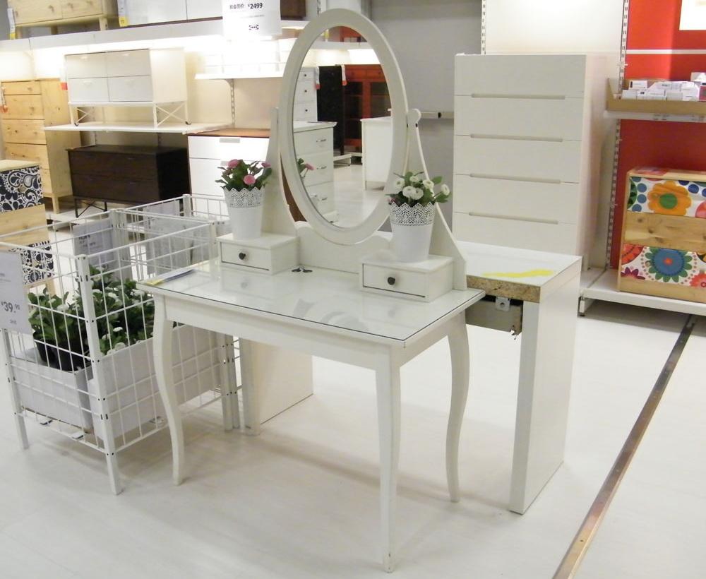 туалетные столики Ikea 38 фото белый стол для спальни с