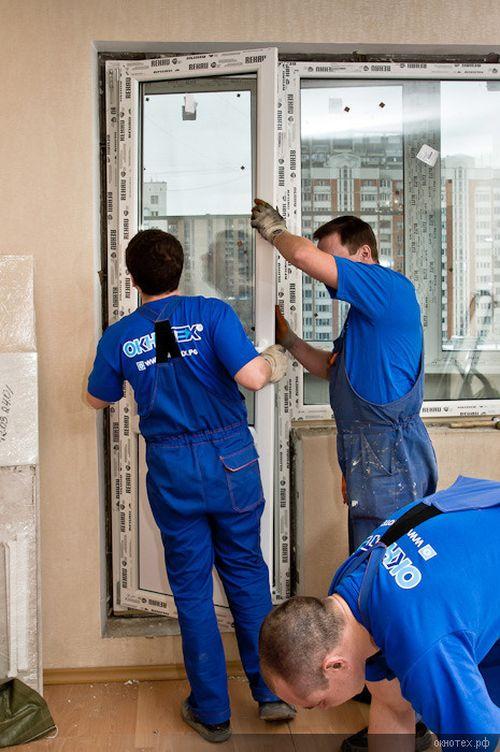 Как установить пластиковую дверь на балкон своими руками 90