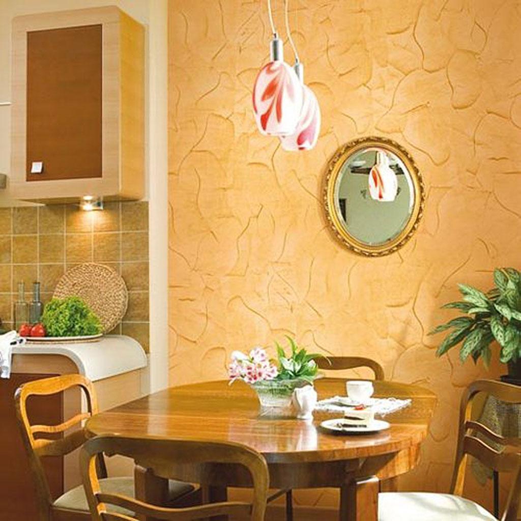 Ремонт на кухне своими руками отделка стен фото