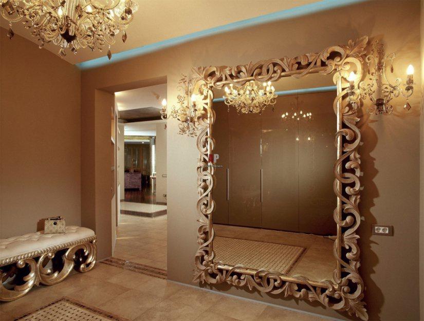 Зеркало в прихожей дизайн 117