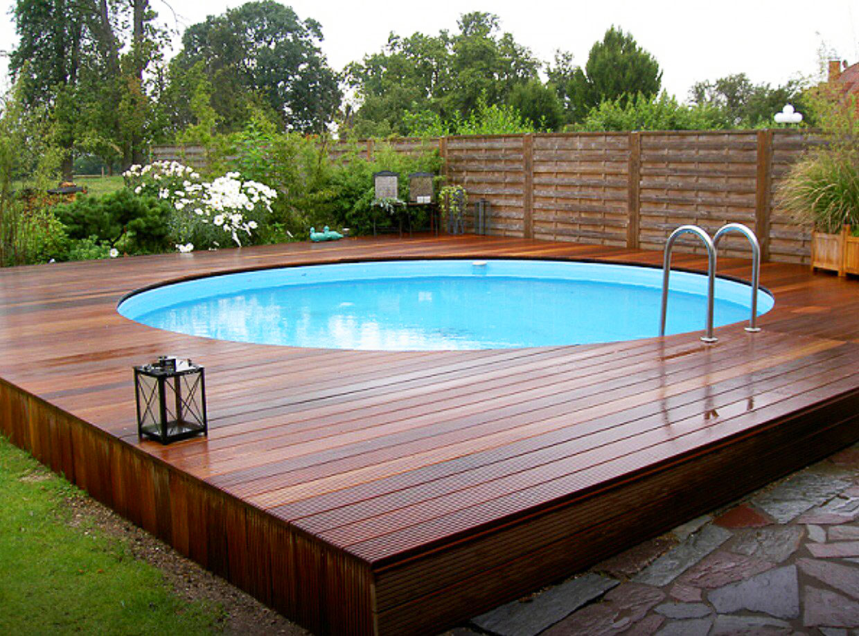 Бассейн для дачи (83 фото): пластиковый уличный сборный бассейн в ландшафтном дизайне, композитные крытые варианты
