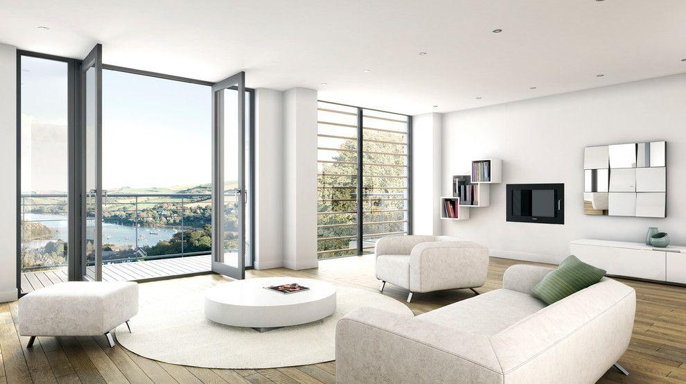 белая гостиная 88 фото черно белый интерьер в современном стиле