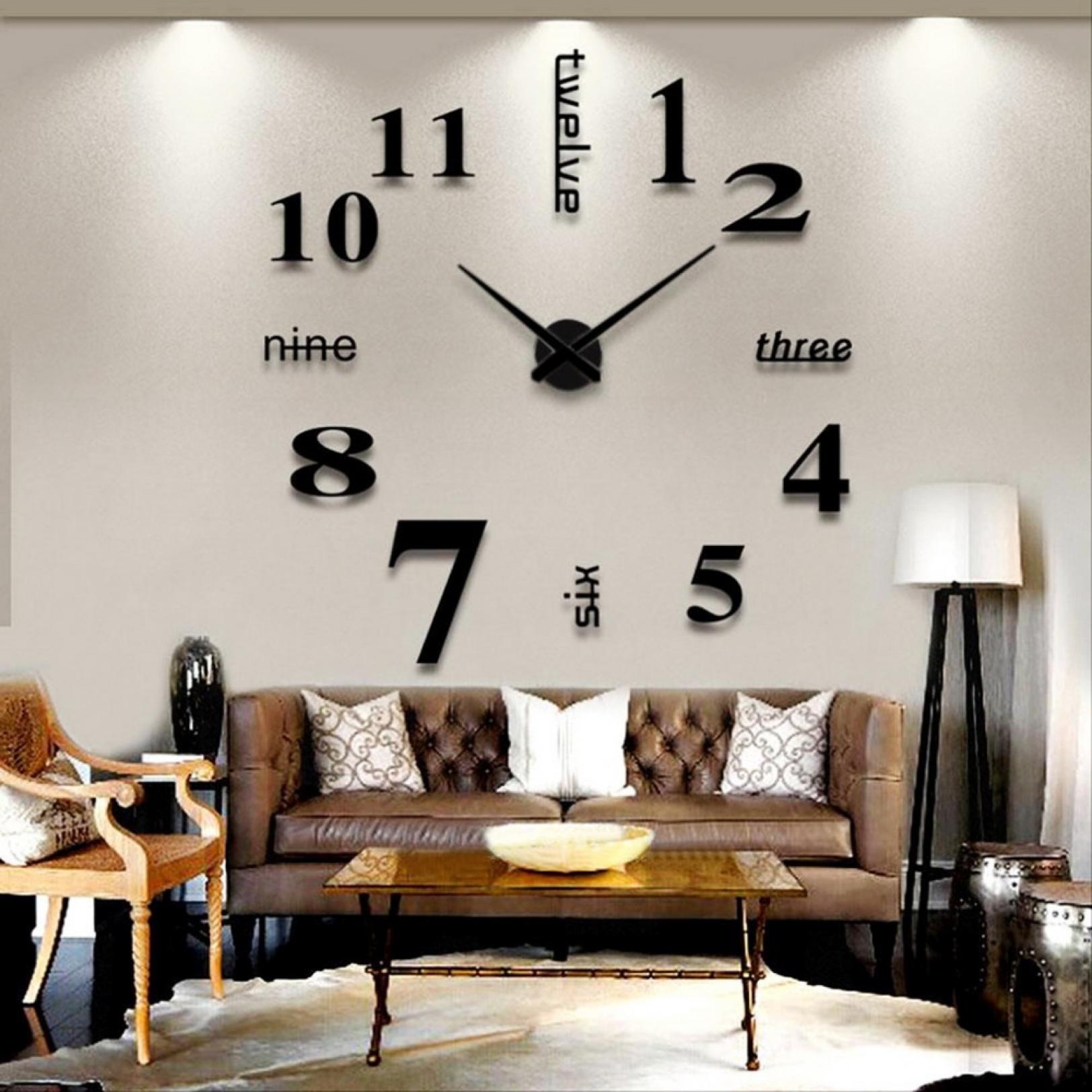 Большие часы на стене своими руками фото 869