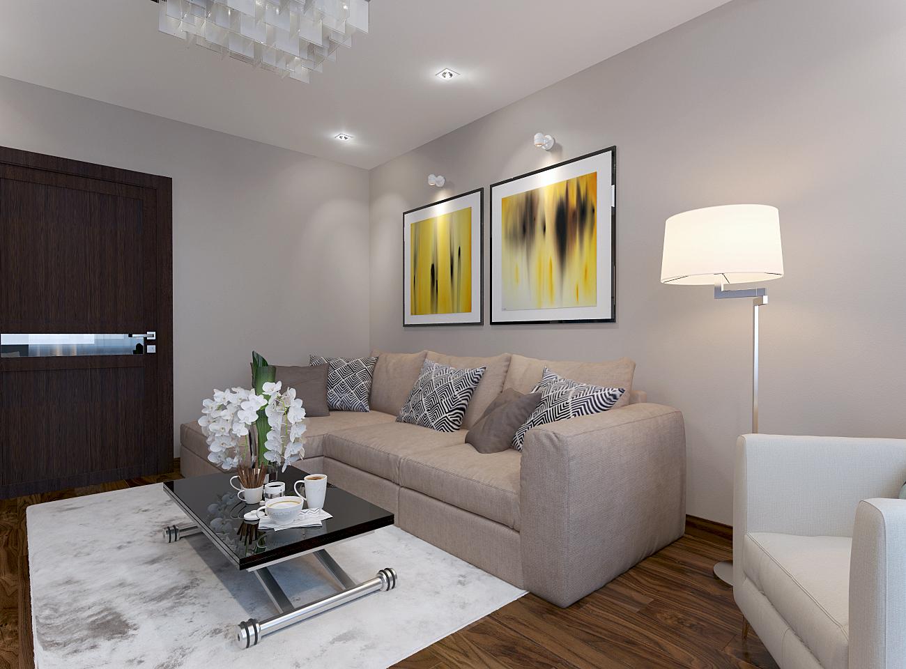 дизайн гостиной комнаты 5
