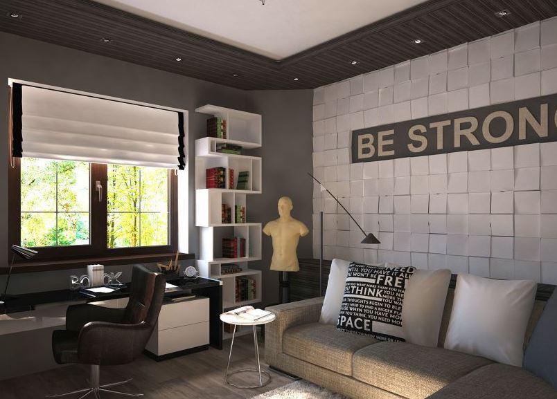 дизайн комнаты для молодого человека 46 фото интерьер в
