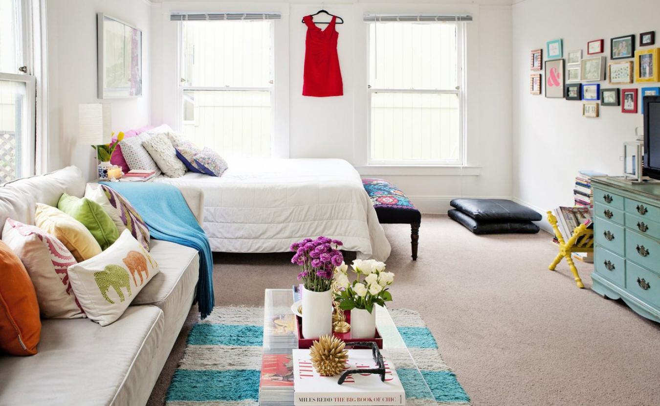 Как сделать интерьер если одна комната