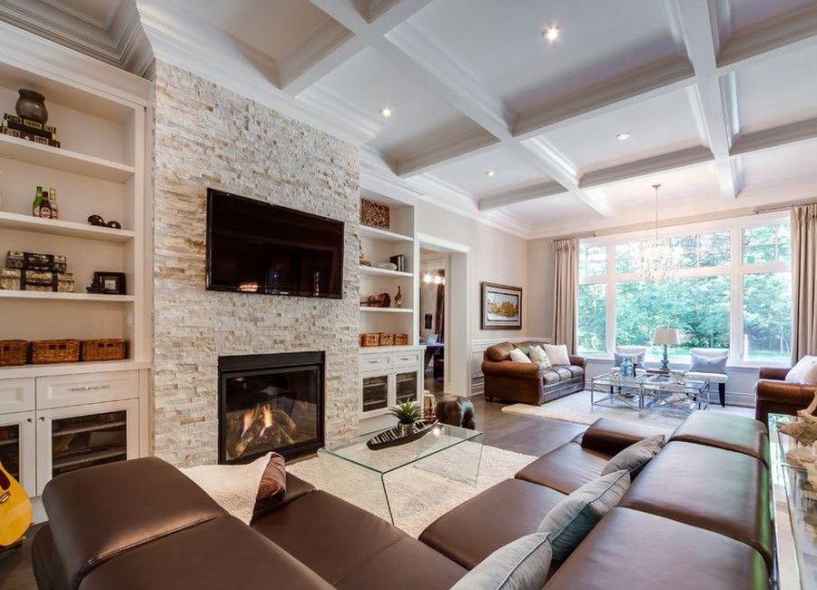интерьер гостиной в частном доме 117 фото дизайн зала в стиле