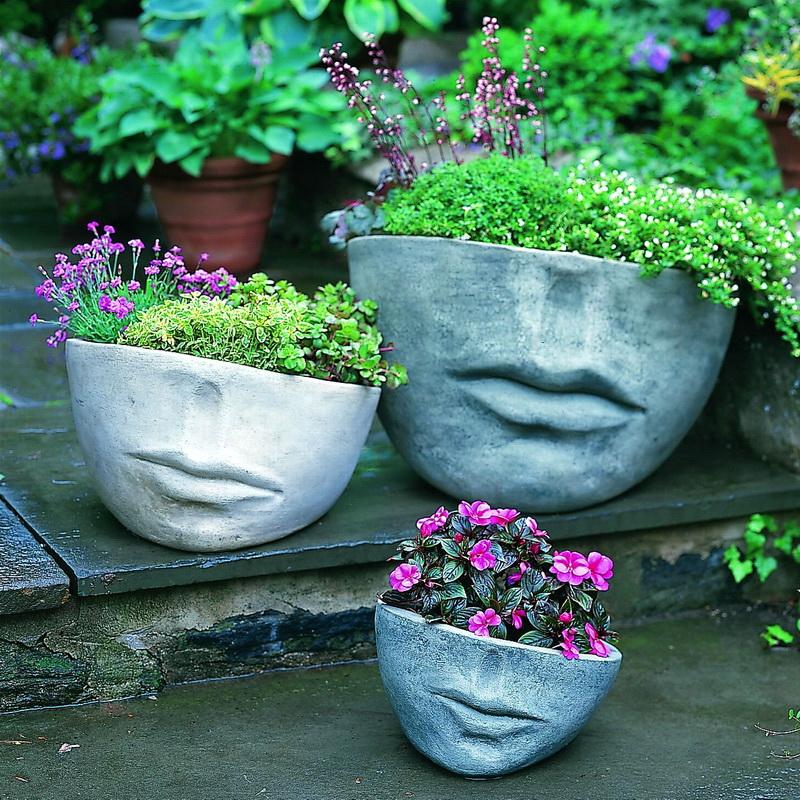 садовые вазоны своими руками фото разработка
