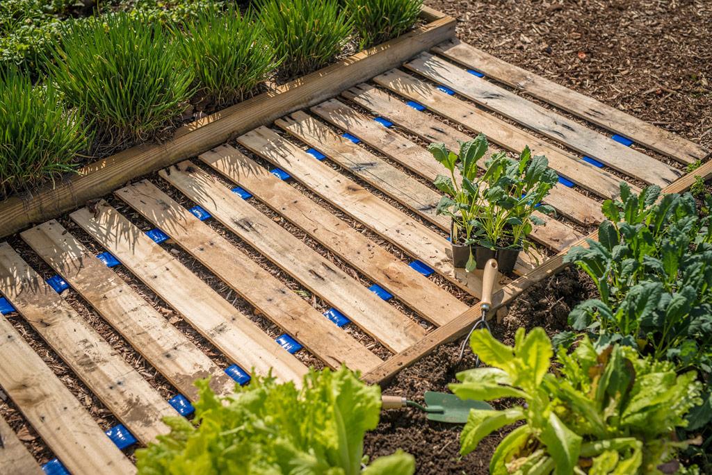 Садовые дорожки своими руками из подручных материалов