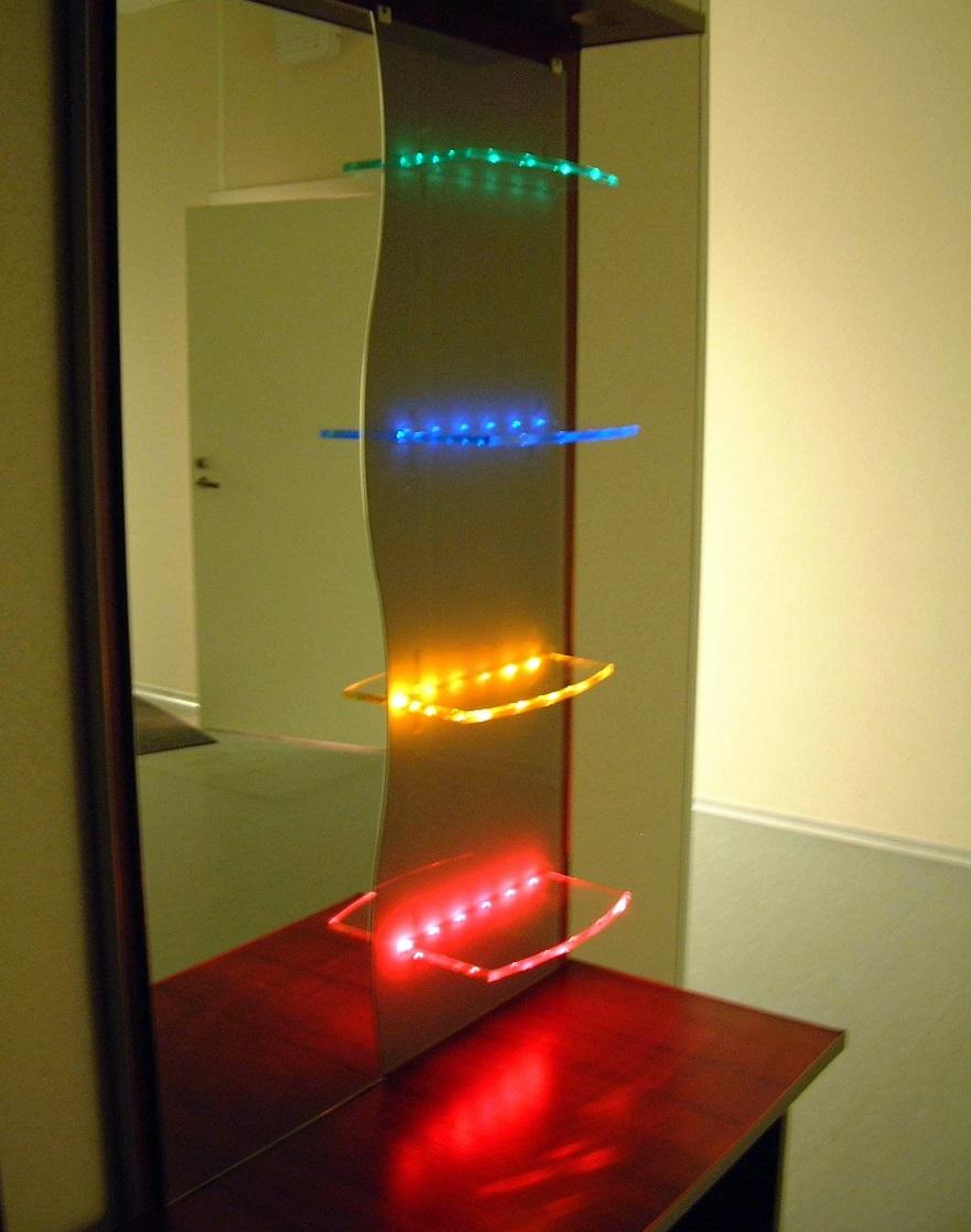 Как сделать светодиодную подсветку своими руками на зеркало фото 688
