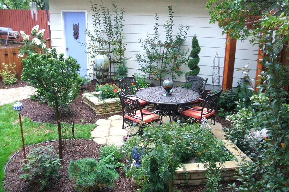 Дизайны садовых участков 6 соток фото своими руками 733