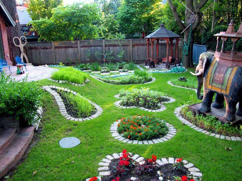 Дизайны садовых участков 6 соток фото своими руками 958