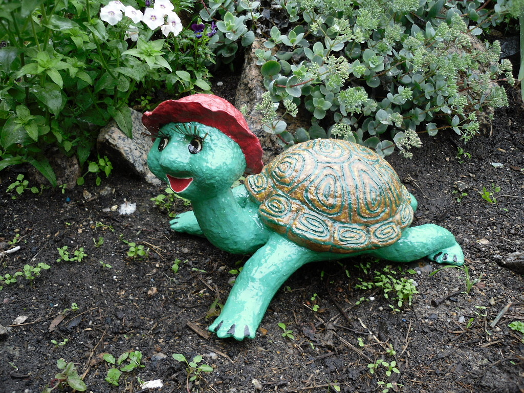 Как своими руками сделать садовую скульптуру 92