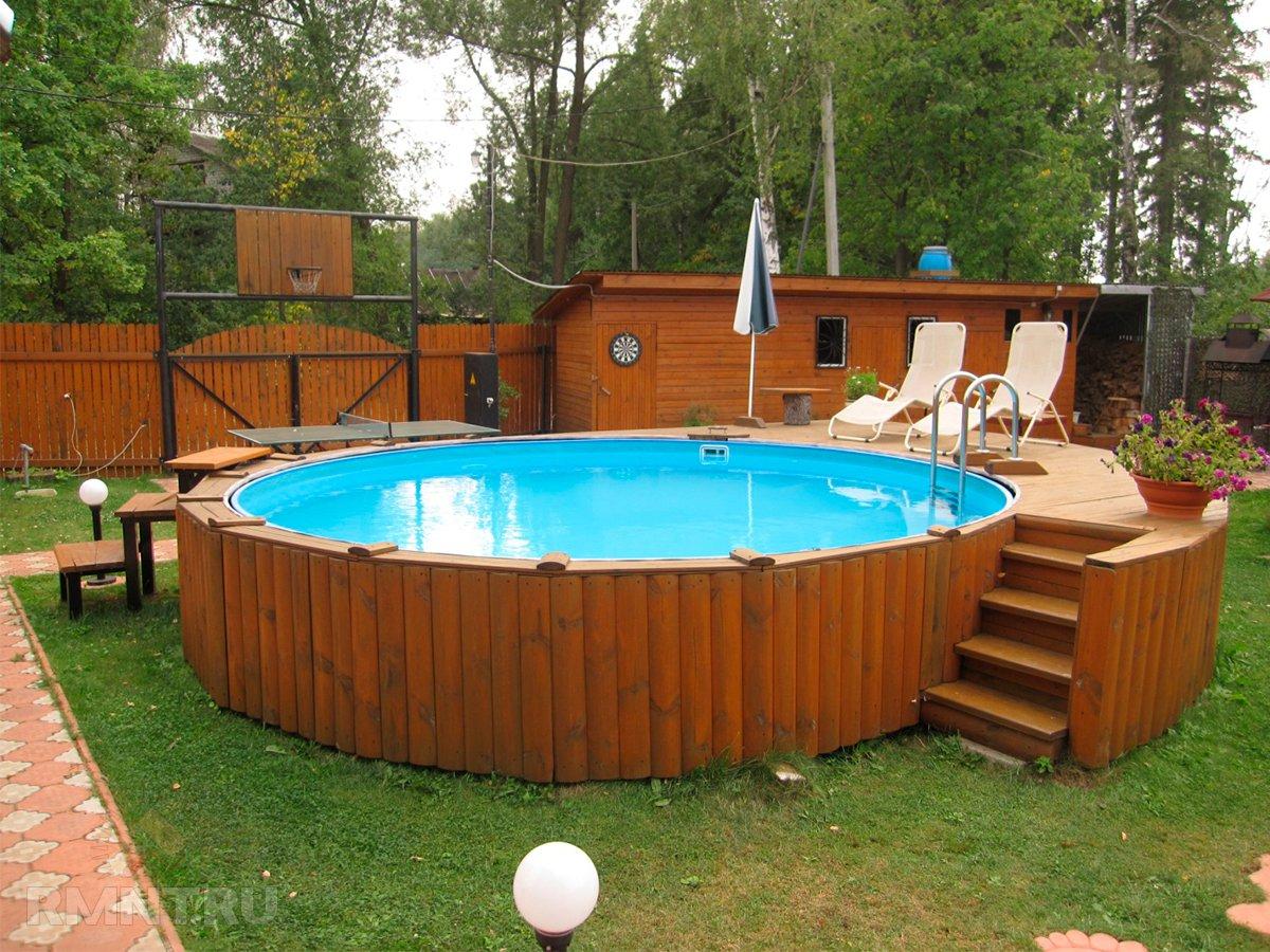 Крытый бассейн для дачи своими руками