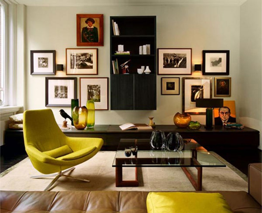 Interior furniture for small apartment