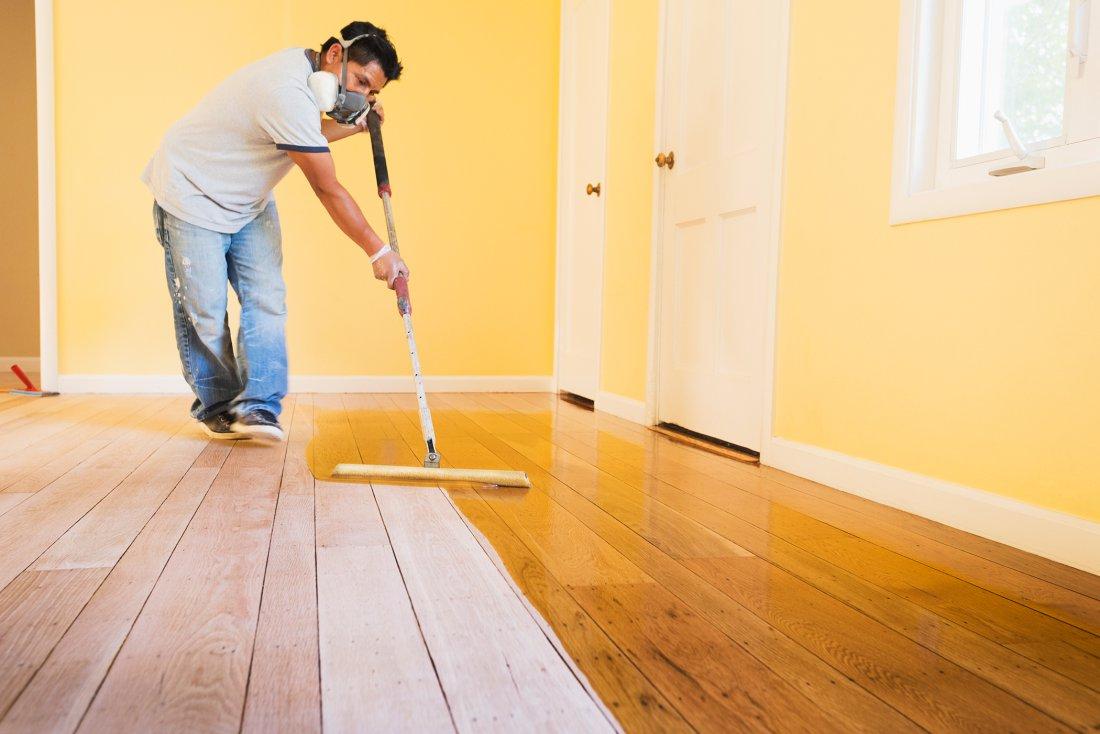 Краска для деревянного пола чем покрасить деревянный пол