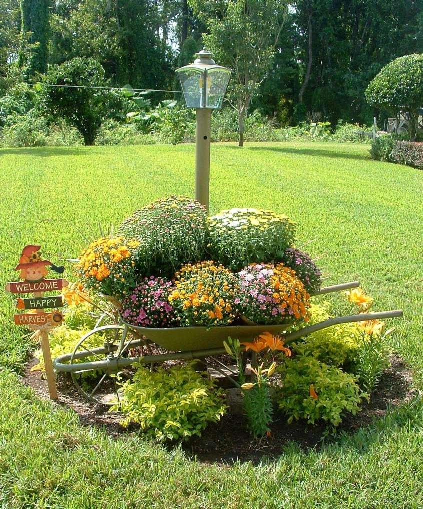 Декор сада своими руками оригинальные идеи фото 33
