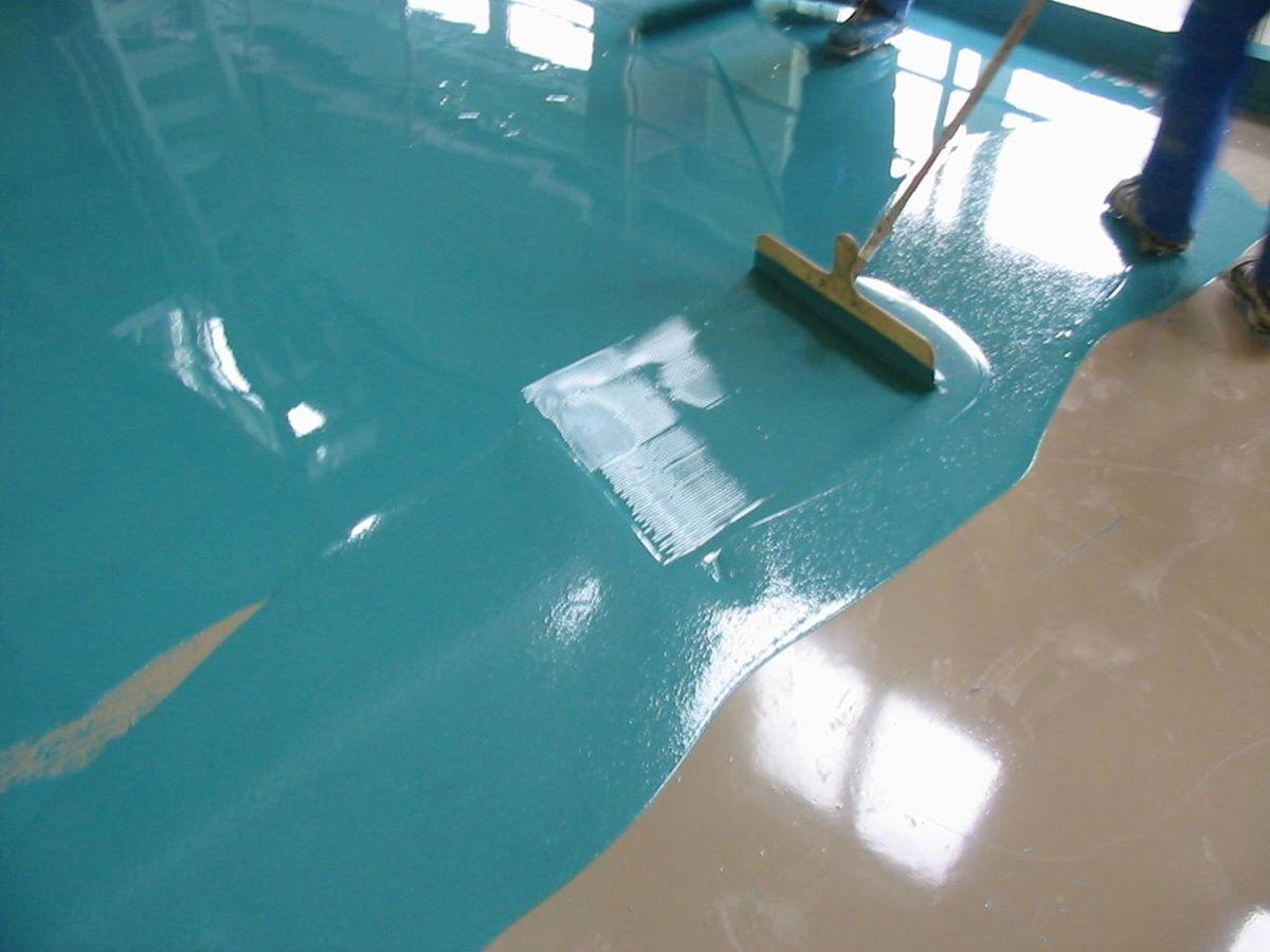 Наливной пол своими руками - пошаговая инструкция фото и 2