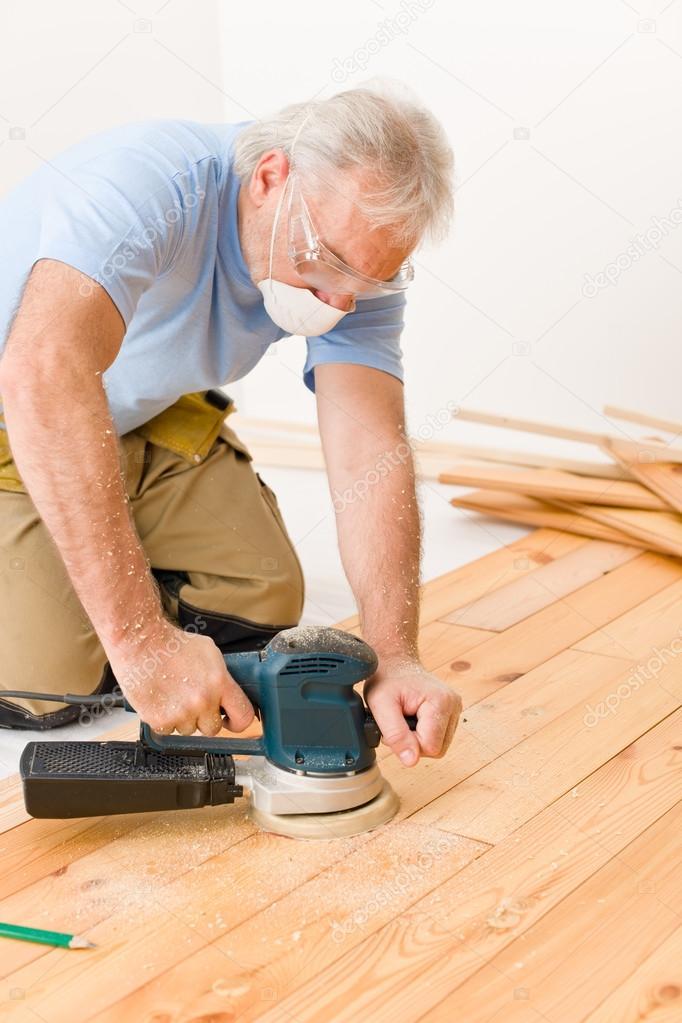 Шлифовка деревянного пола: получаем гладкое основание – Все о строительстве и ремонте