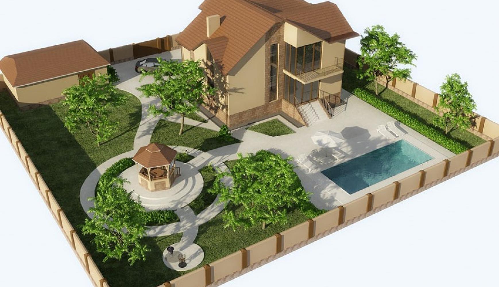 Схемы планировки дачного участка площадью 10 соток (43 фото): план.