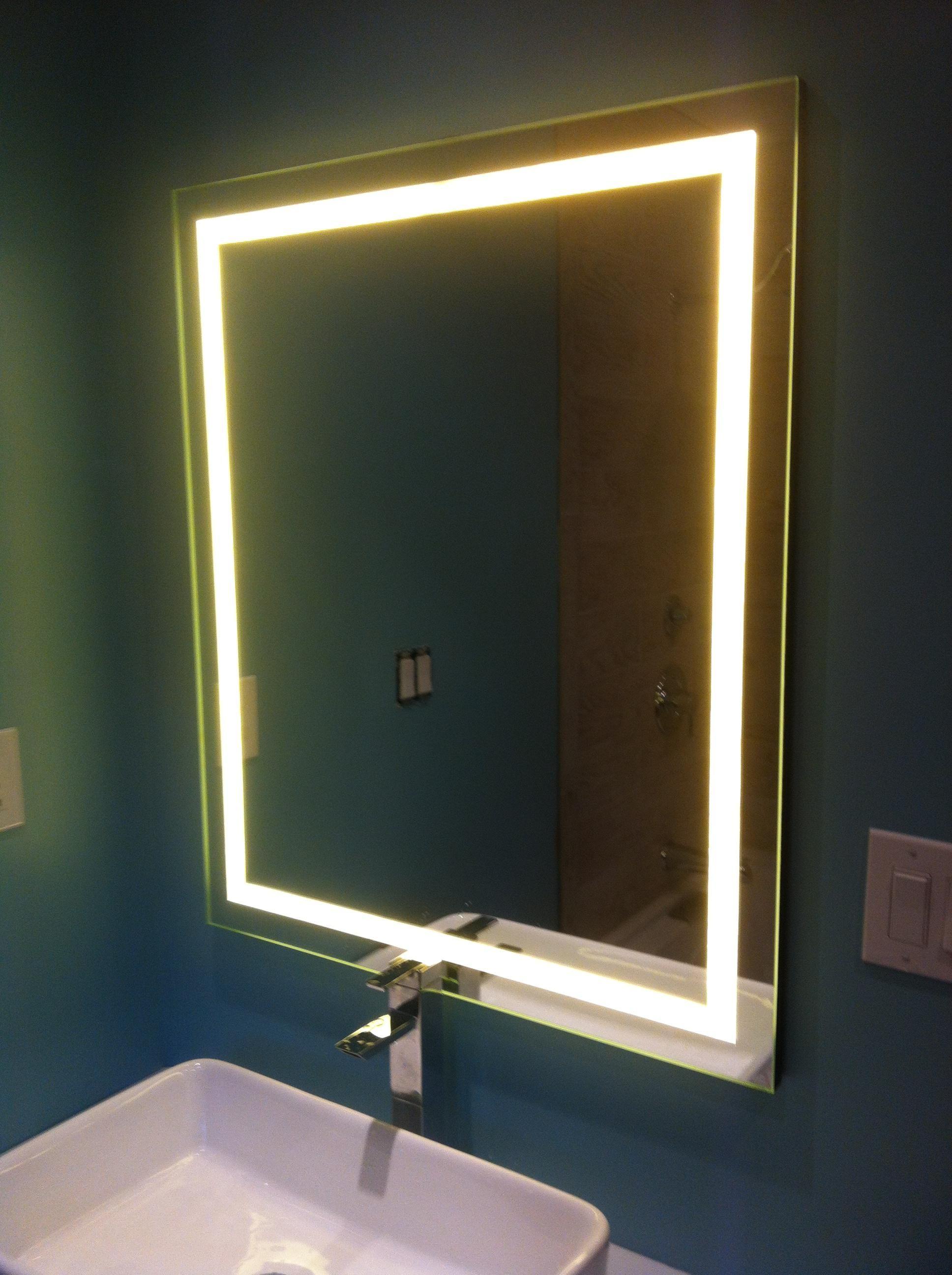Как сделать светодиодную подсветку своими руками на зеркало фото 380