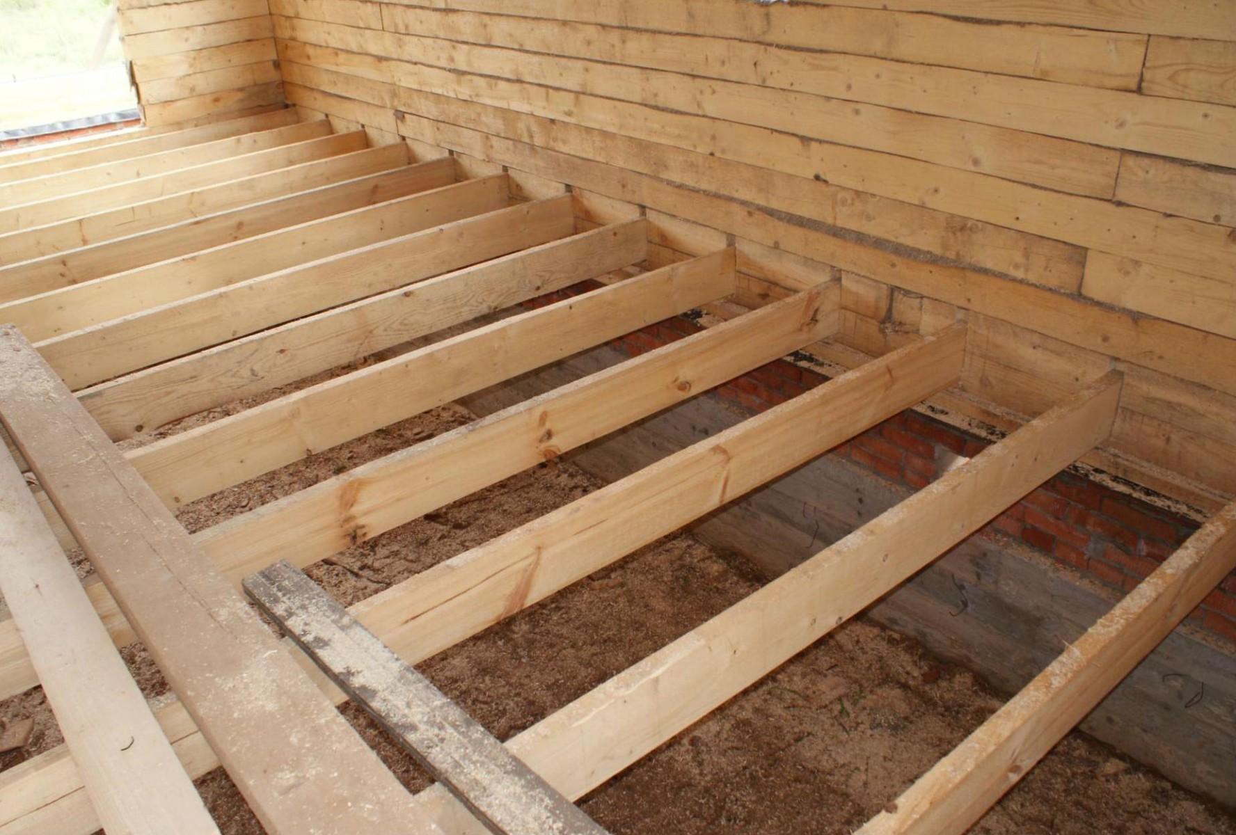 Строительство деревянного настила своими руками
