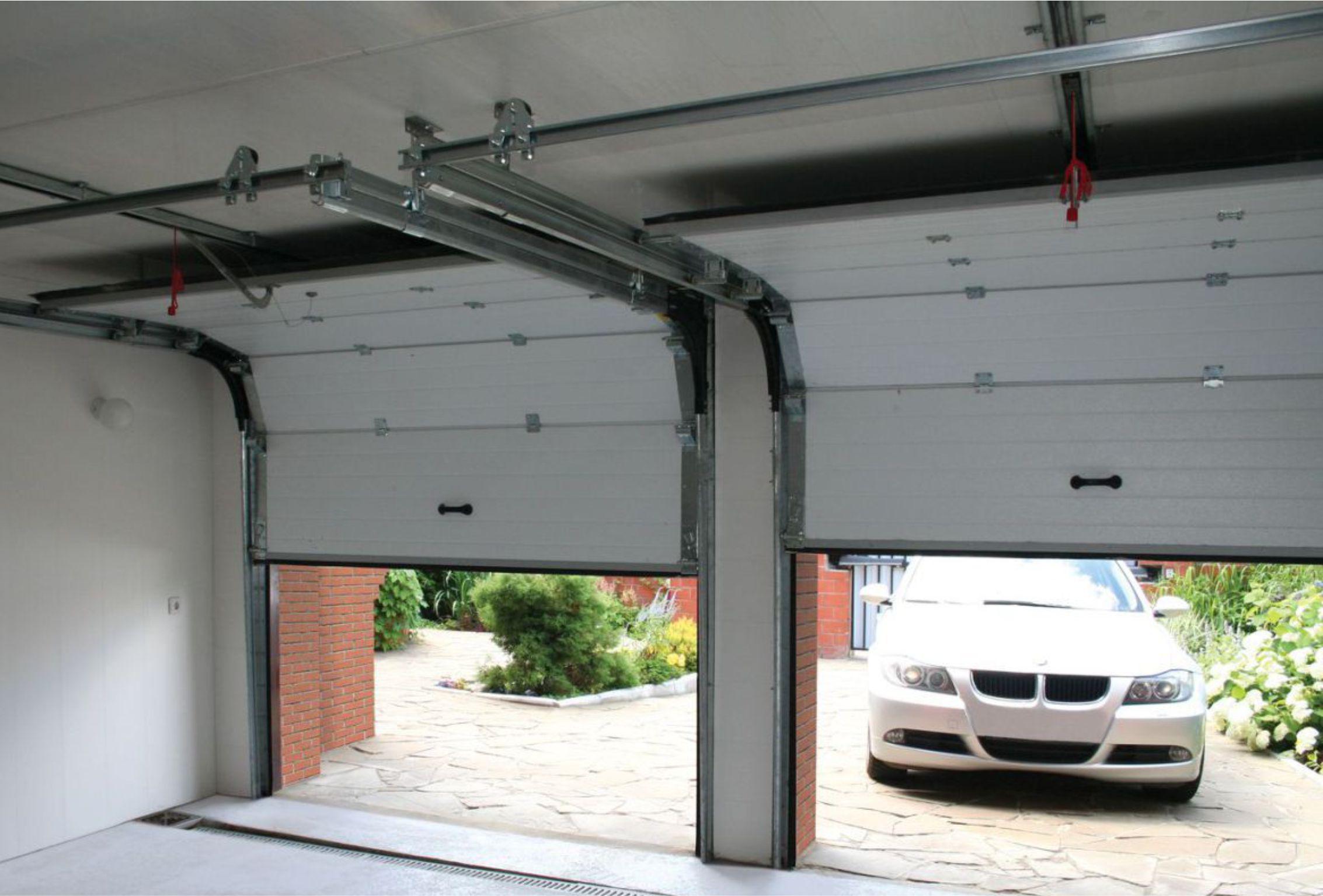 Как изготовить подъемные гаражные ворота своими руками