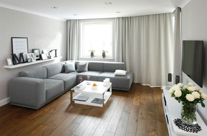 дизайн большой комнаты 6