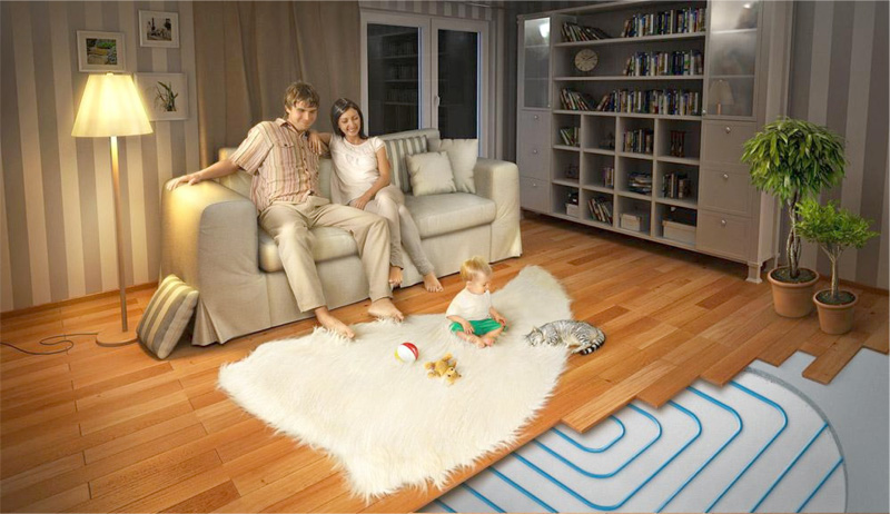 Электрический теплый пол для комфорта всей семьи