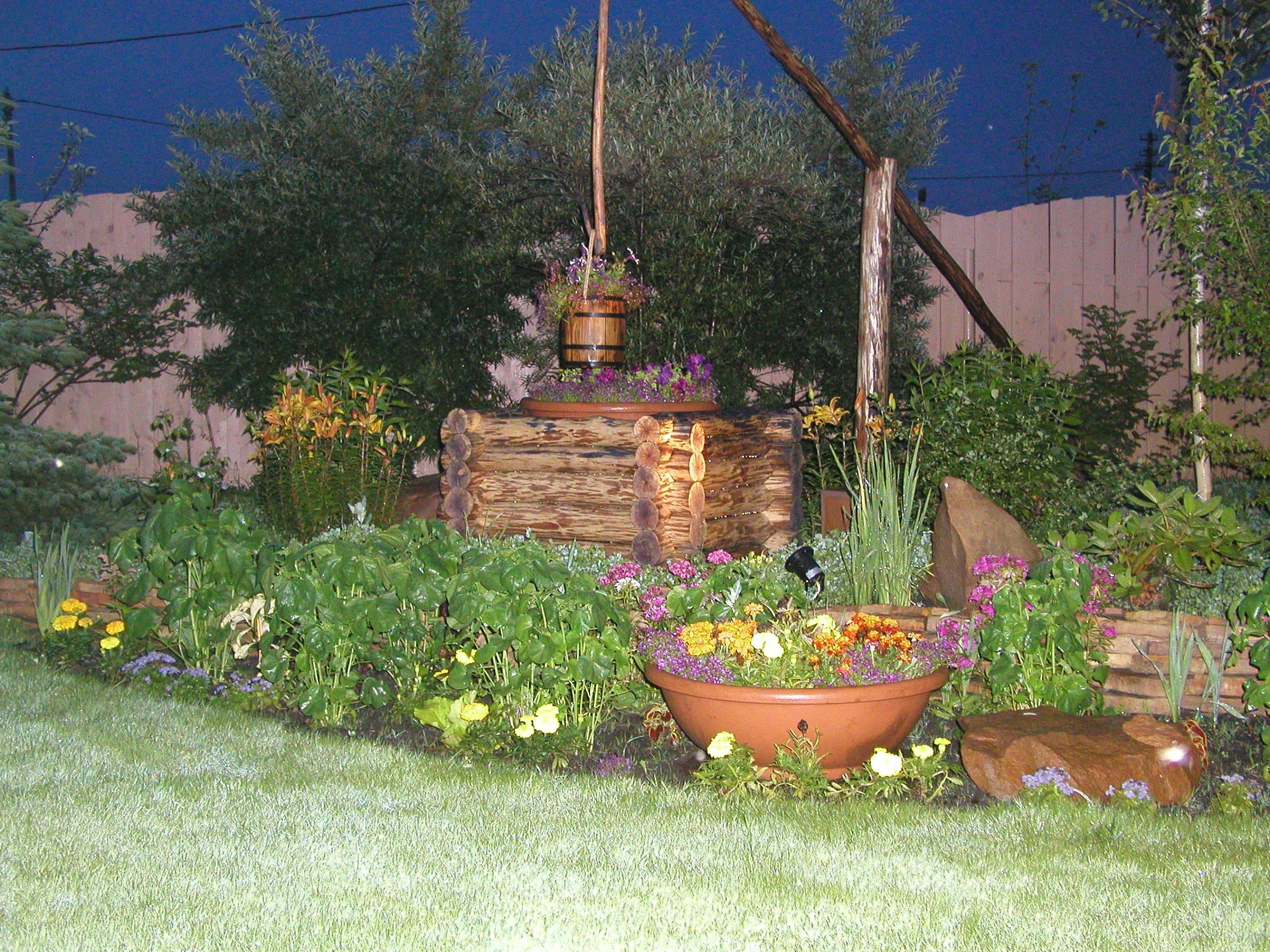 Сад в деревенском стиле своими руками 63