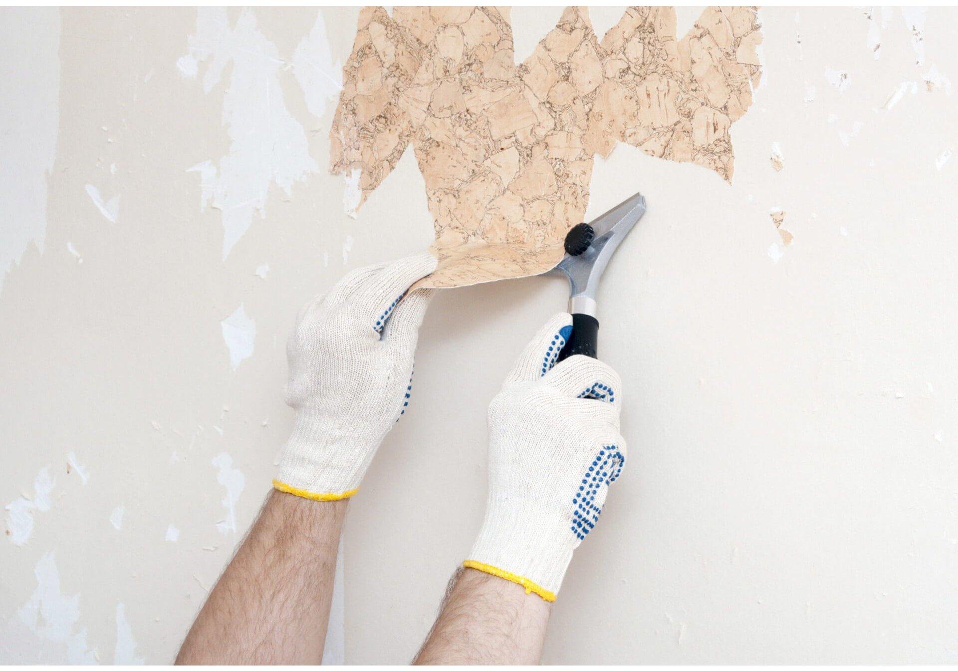Как быстро снять старые обои со стен в домашних условиях 91