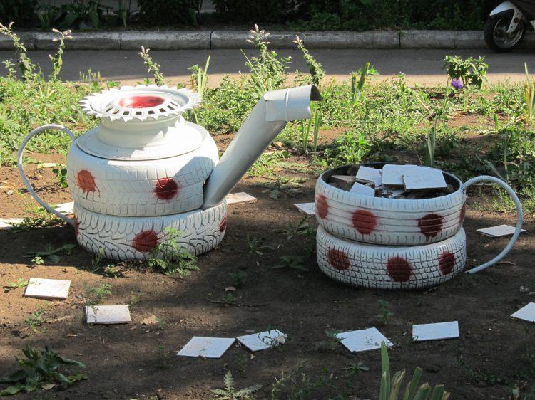 Чайник из покрышек своими руками фото 99