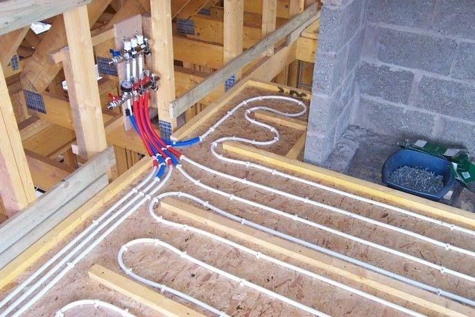 Как сделать теплый водяной пол в деревянном доме