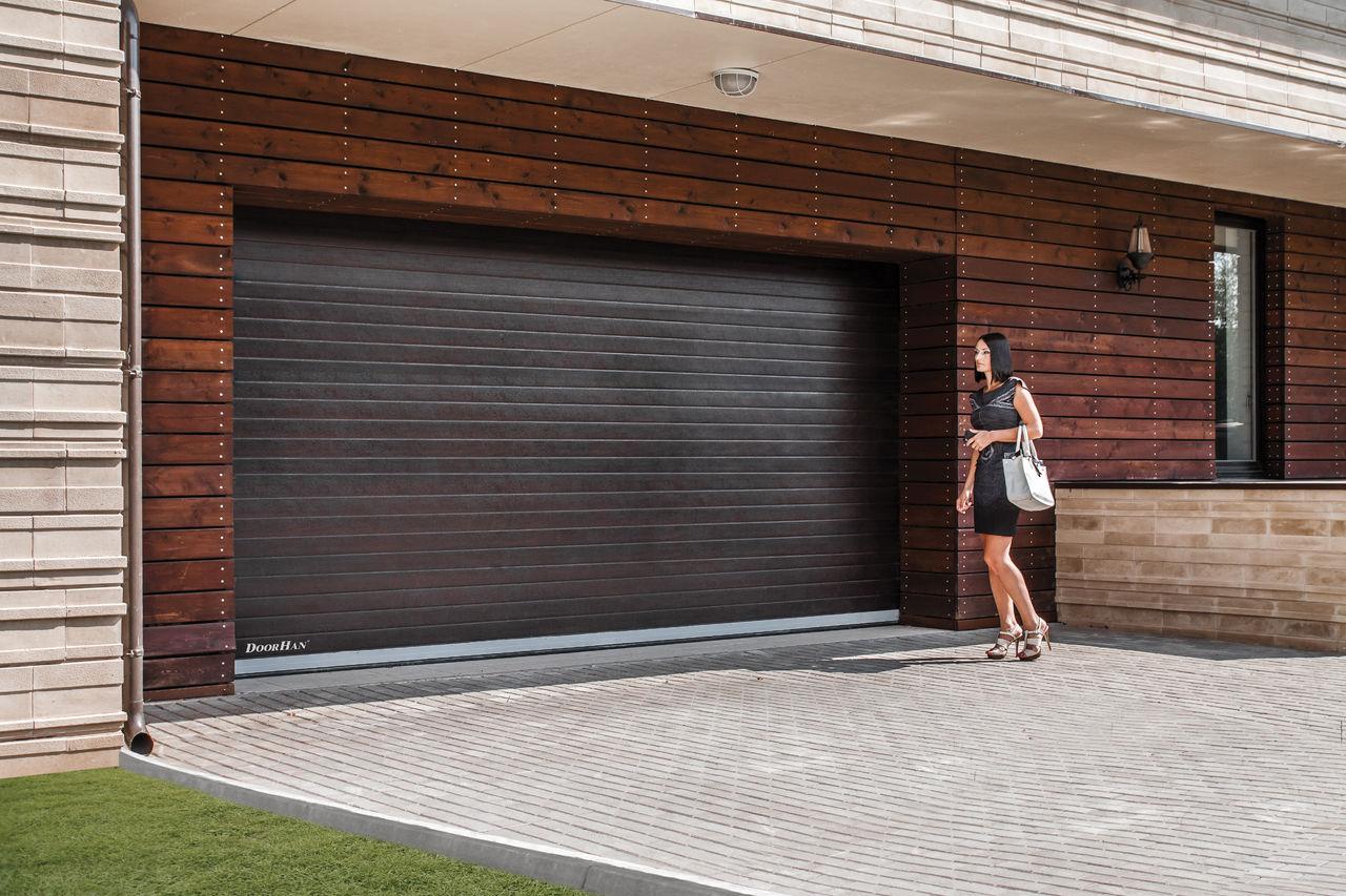 Подъёмные ворота на гараж своими руками