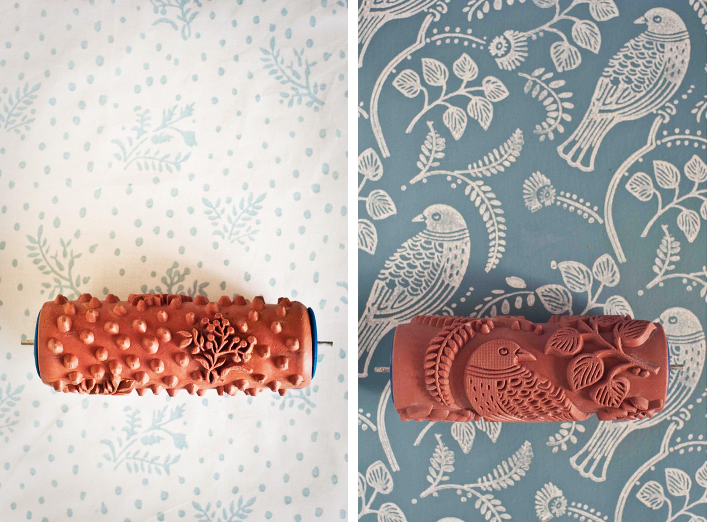 Как сделать валик для фактурной покраски своими руками