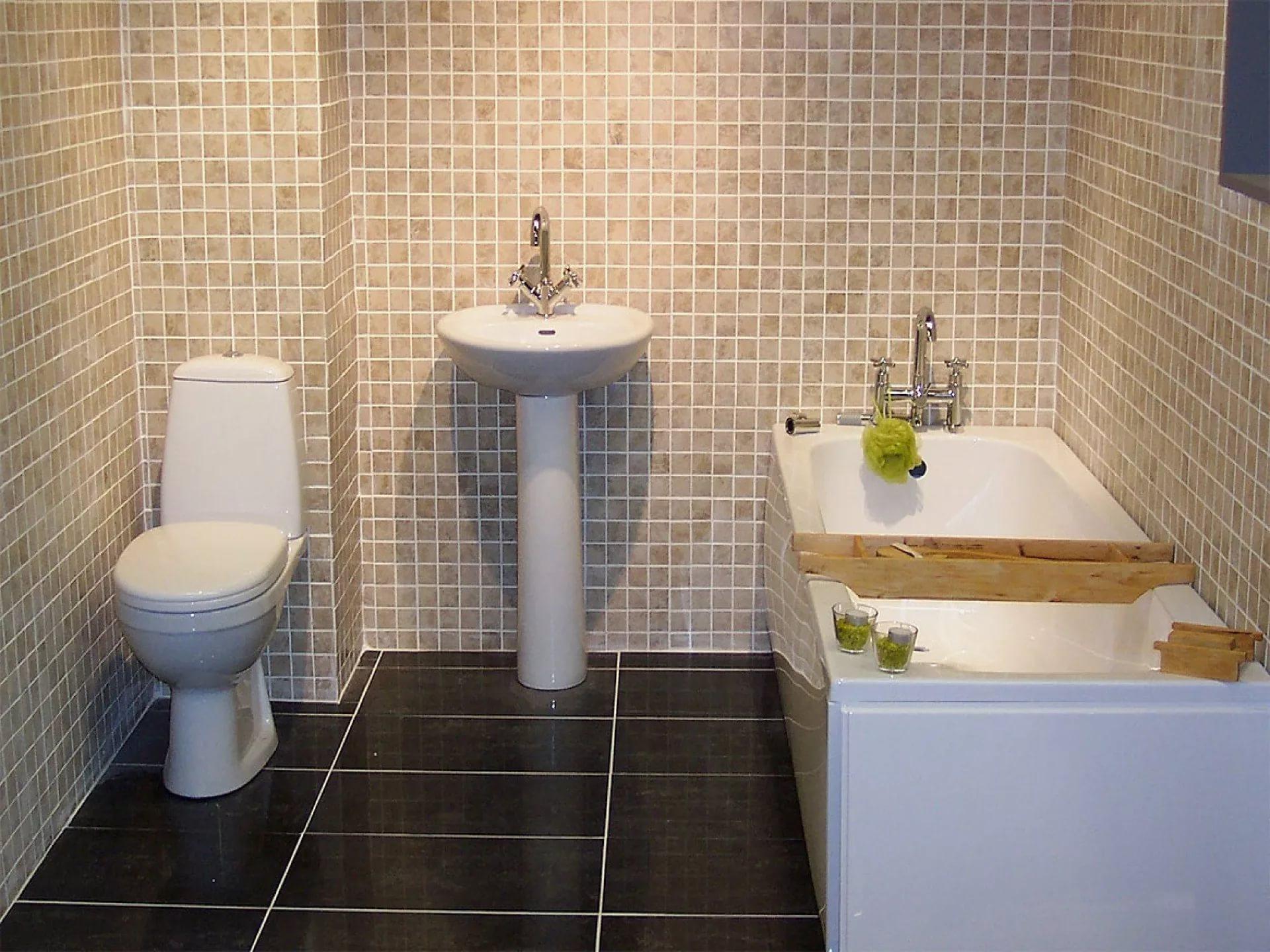 Как положить плитку на пол своими руками в туалете