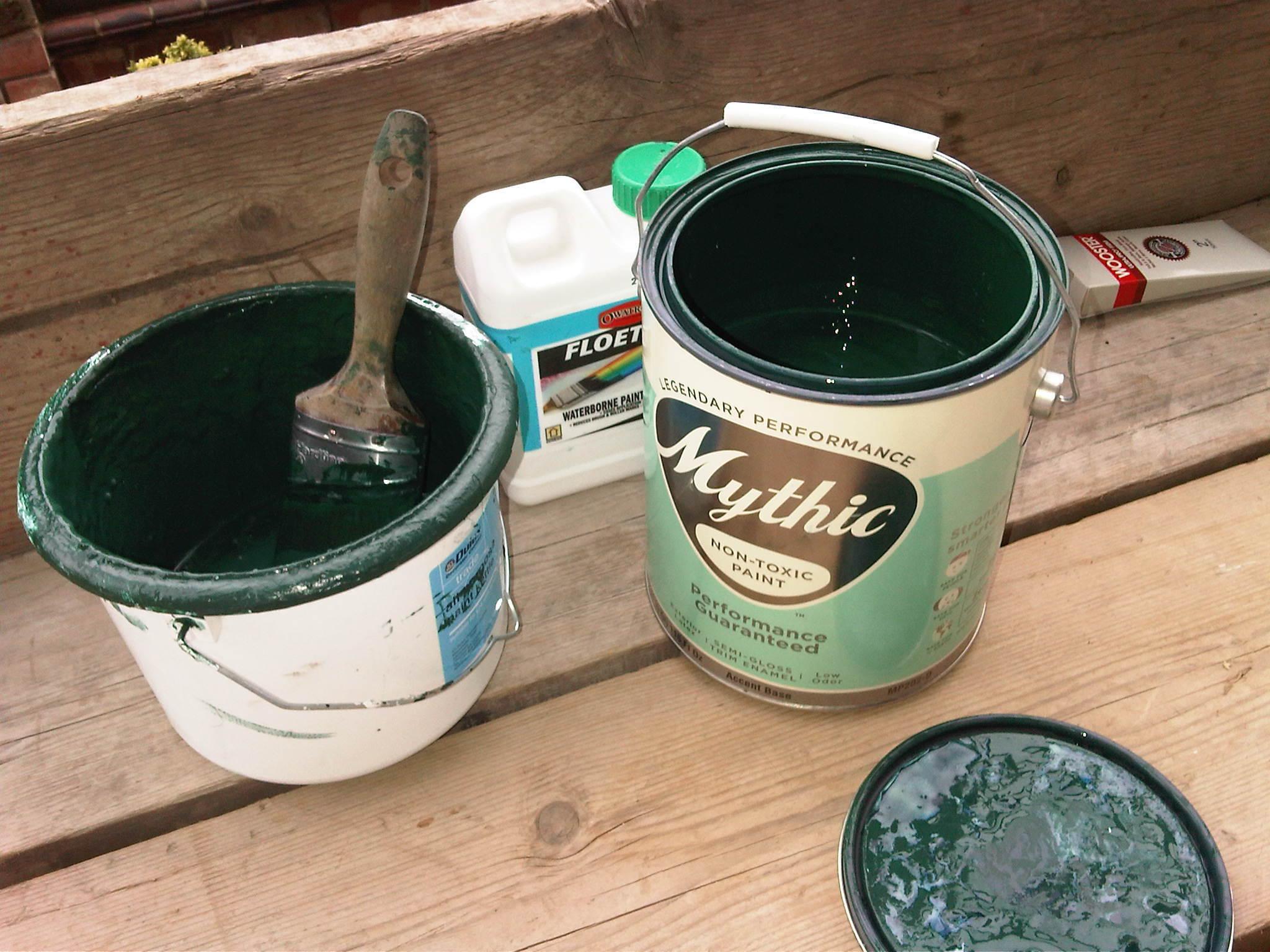 Как сделать краску морозостойкий